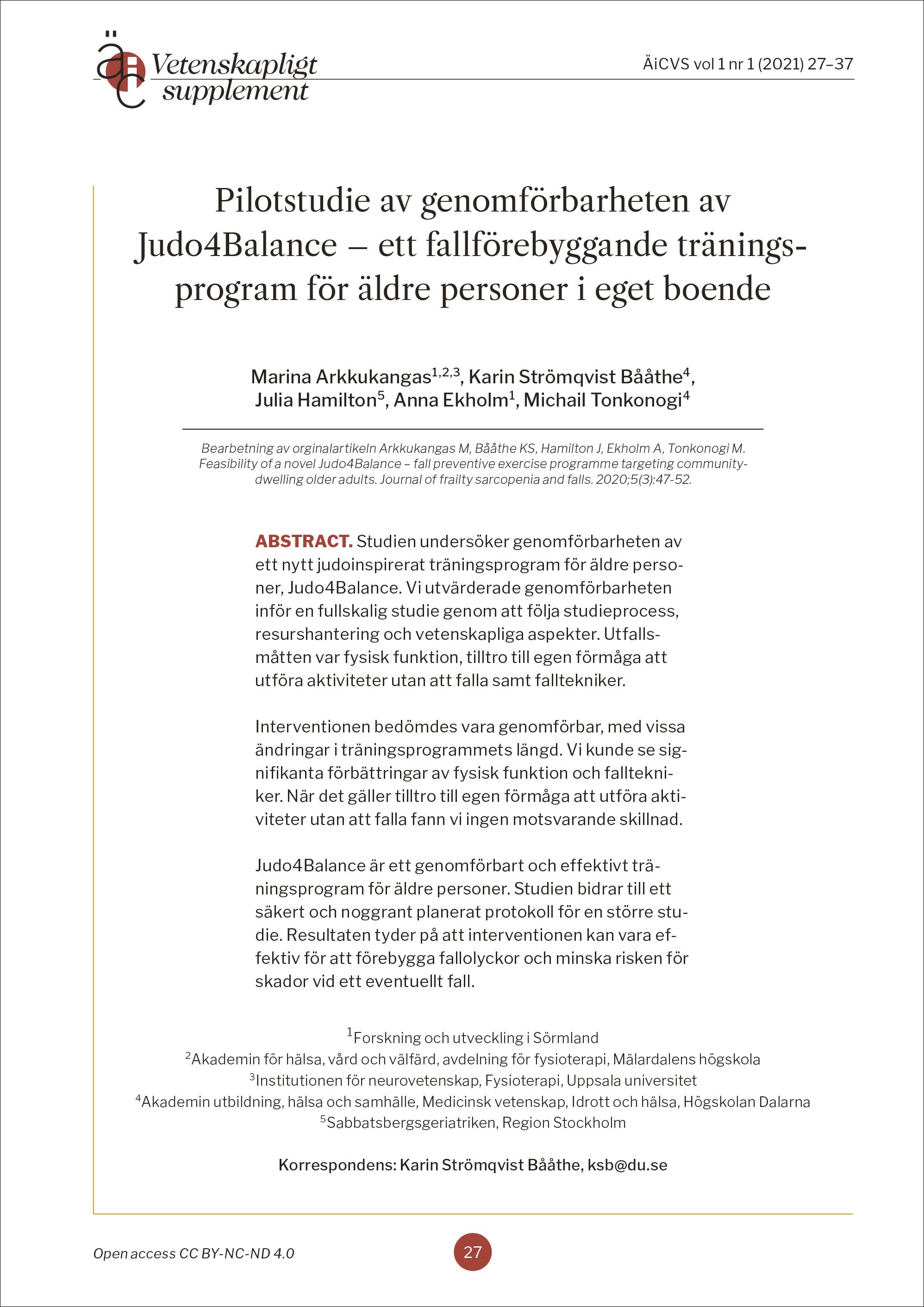 Titelsida för artikel Arkkukangas m fl